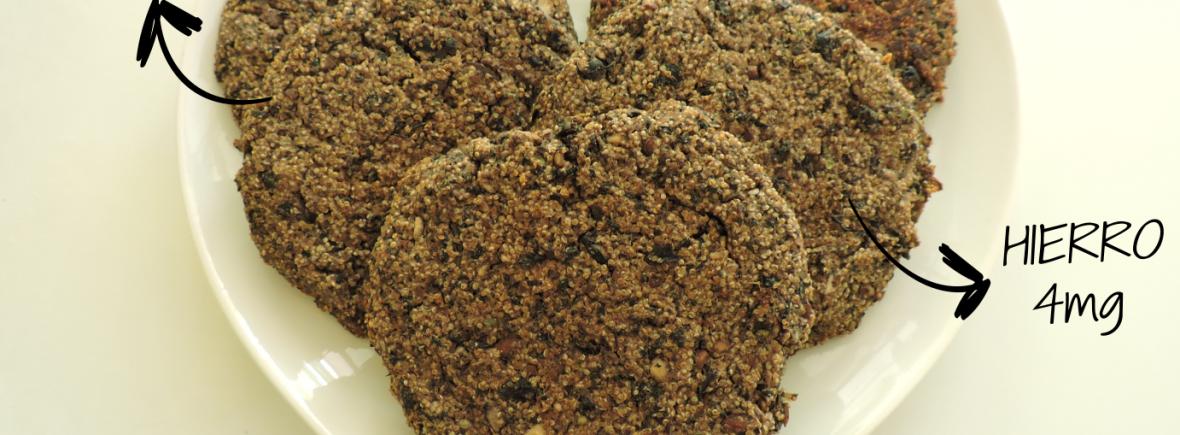 Hamburguesas de porotos negros y amaranto, Altas en calcio, hierro proteinas y zinc. Stefanie Heguy nutricionista vegana vegetariana nutriveg montevideo uruguay
